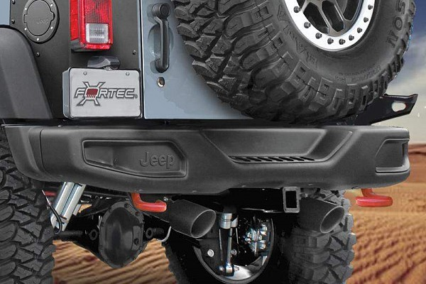 Picture of a 10th Anniversary Style Rear Offroad Bumper J087-2