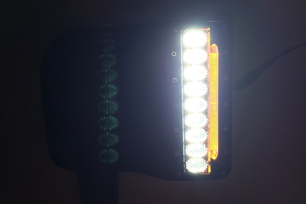 Picture of a  Side Rear View Mirror Housing With LED Turn Signal