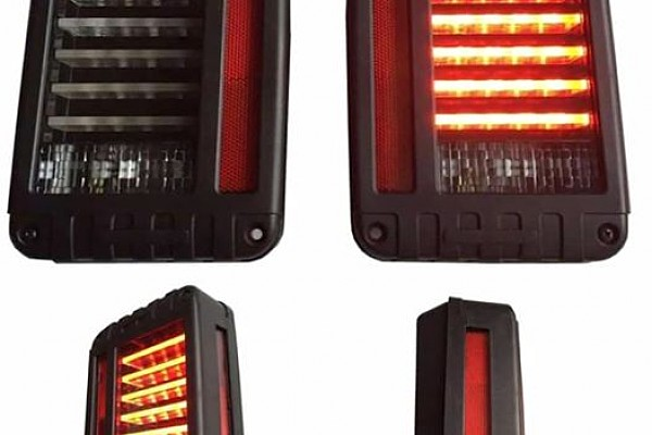 Picture of a  Pair LED Tail Lights J.W. Speaker 279 J Style Rear Turning Break Light 0119