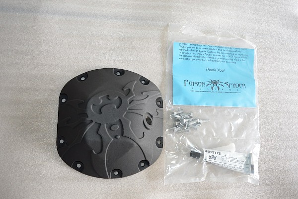 Picture of a Poison Spyder Style Dana 44 Differential Cove Diff Cover