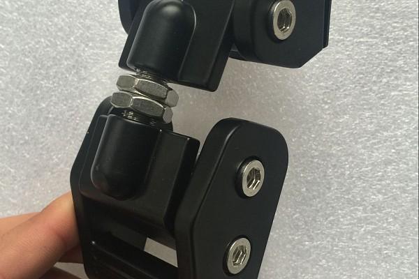 Picture of a Heavy Duty Bonnet Hood Lock Catch Kit (Black)
