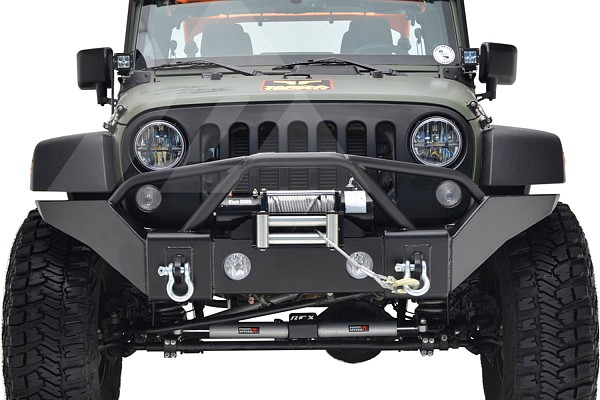 Picture of a JW0350 Style Steel Front Winch Bull Bar