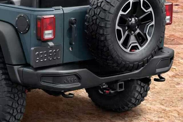 Picture of a 10th Anniversary Style Rear Offroad Bumper