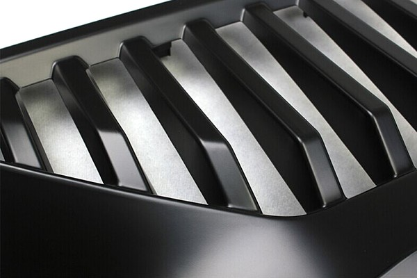 Picture of a Topfire Vader Style Angry Grille with Logo