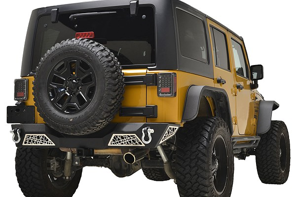 Picture of a web Style rear bumper bar