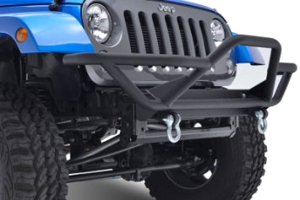 Picture of a JW0238 JK Rock Crawler Tubular Front Bumper