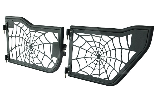 Picture of a 4-Door Spider Net Style Tubular Doors with Mirror (Set of 4)