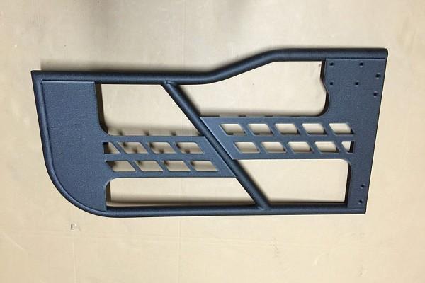 Picture of a Jeep Wrangler  JK 4 door Tubular Doors with Mirror