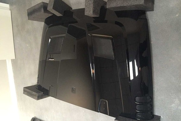 Picture of a Rugged Ridge Style Performance Vented Hood (steel)