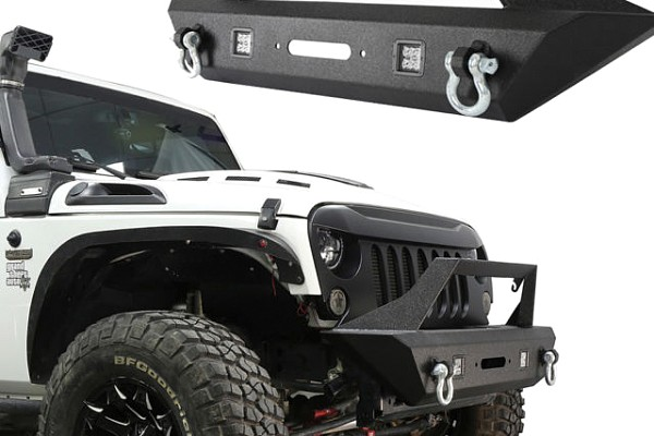 Picture of a Avenger Style Front Bull Bar