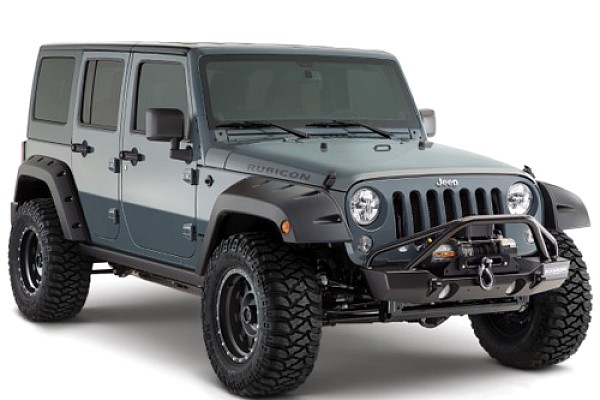 Picture of a BW Pocket Style Front & Rear Fender Flares Guard