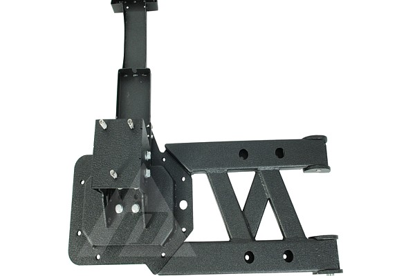 Picture of a Tubular Style Rear Spare Wheel Carrier