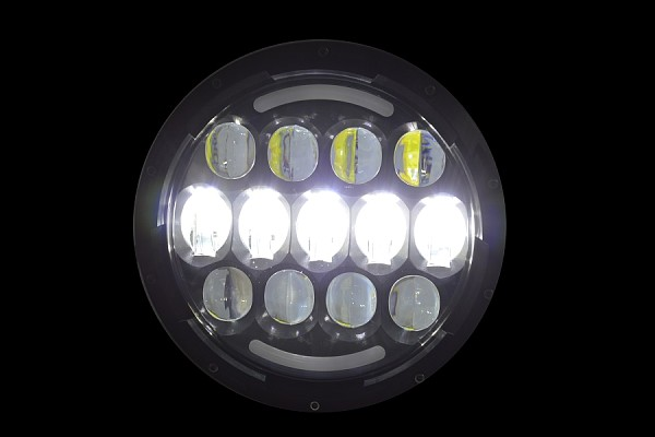 Picture of a 0507 style 7 inch LED Headlights