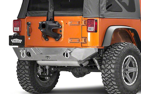 Picture of a JW0330 PS Style Steel Rear Bull Bar