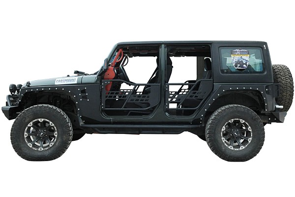 Picture of a Evolution Style Steel Front Fender Flares Guard